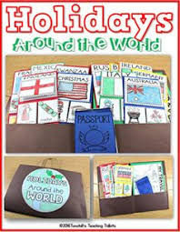 holidays around the world reading passages and questions and