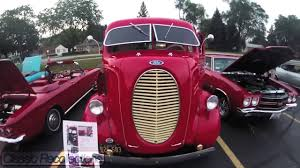 Antique Ford Truck Art - chromed closeup 1939 ford cab over engine custom truck youtube