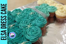 how to make frozen elsa dress tear away cupcakes pinch of luck