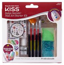 kiss salon secrets nail art starter kit 17 ct shop your way