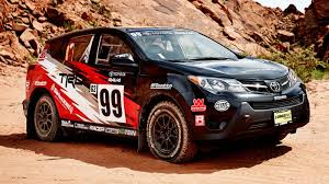 toyota s going rally racing with this 2wd rav4