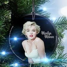 Marilyn Monroe Christmas Ornaments - tori home princess garden faceted iridescent glass ball christmas