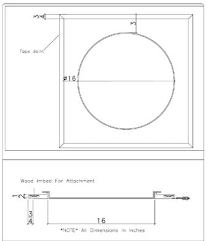 Ceiling Access Doors by Round Drywall Ceiling Access Doors Intersource Specialties Co