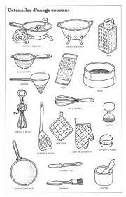 les ustensiles de cuisine vocabulaire words