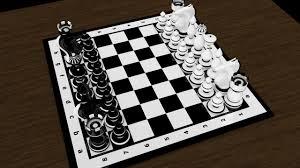 chess table chess board 3d model in board games 3dexport
