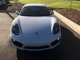 white porsche cayman s white porsche cayman in carolina for sale used cars on