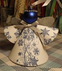 Homemade Christmas Decorations Angels by The 25 Best Angel Ornaments Ideas On Pinterest Christmas Angel