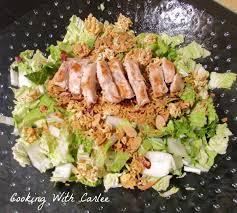 napa salad cooking with carlee s napa salad