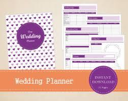 wedding planner binder wedding planner binder etsy