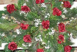 memorial flowers burgundy christmas opera roses grave blanket cemetery