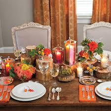 thanksgiving table decoration ideas southern living