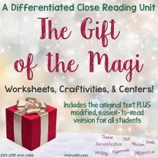 the gift of the magi teaching resources teachers pay teachers
