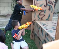 How To Throw A Backyard Party How To Throw A Nerf Battle Birthday Party 5 Steps