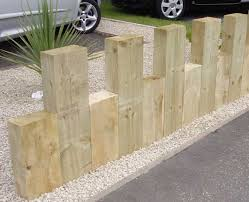 could do this with left over wood or even log sections add a