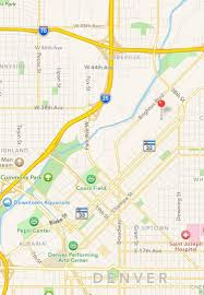 Coors Field Map Apartment Unit 203 At 3377 Blake Street Denver Co 80205 Hotpads