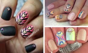 19 tribal inspired nail designs stayglam