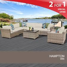 hampton patio furniture 8 piece wicker patio furniture outdoor sofa sets