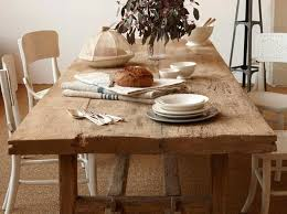 solid wood rustic dining table rustic solid wood large round