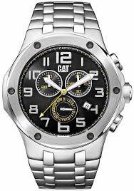 watches chronograph s cat caterpillar navigo chrono steel chronograph a714311117
