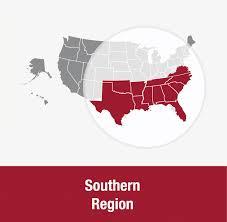 Florida Regions Map by Southern Region Uua Org