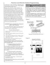 Reprogram Garage Door Opener by How To Program Craftsman Garage Door Opener Remote Khabars Net
