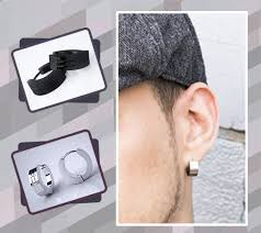 types of earrings for men 8 types of fashion earrings for men only best jewelry brands for