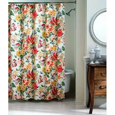 Flower Drop Shower Curtain Bathroom Inspiration Floral Home Photo Cred Allie Boss