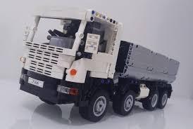 lego technic truck dump truck the lego car blog