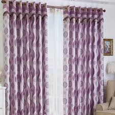 gorgeous purple geometrical printed curtains for curtains buy