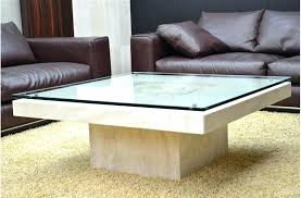 stone and glass coffee table travertine top coffee table crate barrel furniture table parsons