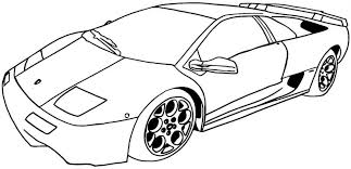 cool cars coloring pages printable car kids free mintreet
