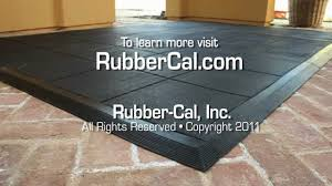 Flooring Rubber Tiles How To Install Revolution Rubber Flooring Tile Ramps From Rubber