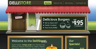 free and premium restaurants cafes website templates designmodo