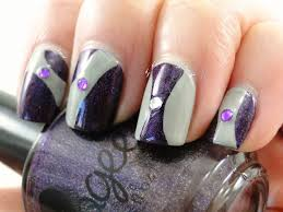 i feel polished abstract nail art
