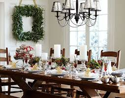 pottery barn christmas table decorations festive christmas table settings google search table settings
