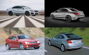 been down this road before 2014 mercedes cla250 vs 2002 c230 coupe