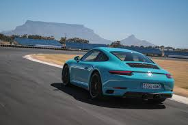 teal porsche 2017 porsche 991 gts first drive review total 911