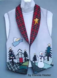 christmas vest pattern