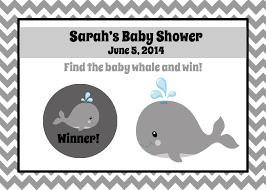 baby shower scratch offs games baby shower decoration