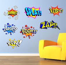 pop art wall stickers shenra com the grafix studio 03 cool comic pop art wall art sticker