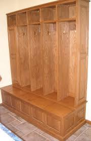 Hallway Bench Storage by Furniture White Wooden Mudroom Open Shelf With Basket Storage