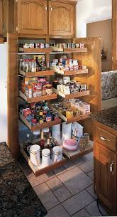 Kitchen Organizers For Cabinets Organize Your Existing Kitchen Cabinets With This Slide A Shelf