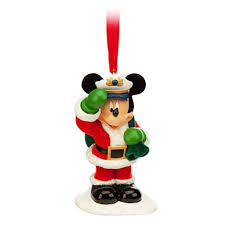 your wdw store disney ornament captain santa mickey