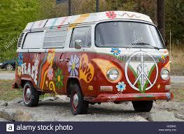 volkswagen van hippie painted volkswagen hippie van ruby blue s winery naramata bench