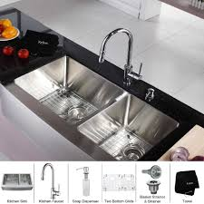 kitchen faucets with soap dispenser 36