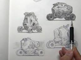 sketchbook tour with scott robertson and neville page car body