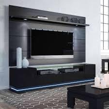 Wall Tv Furniture Manhattan Comfort Vanderbilt Tv Stand And Cabrini 2 2 Floating