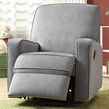 Swivel Glider Recliner Chair by Amazon Com Pulaski Sutton Swivel Glider Recliner Zen Grey With