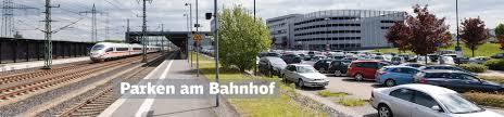 Bad Cannstatt Bahnhof Db Bahnpark Parken Am Bahnhof