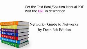 practice test bank for network guide to networks by dean 6th